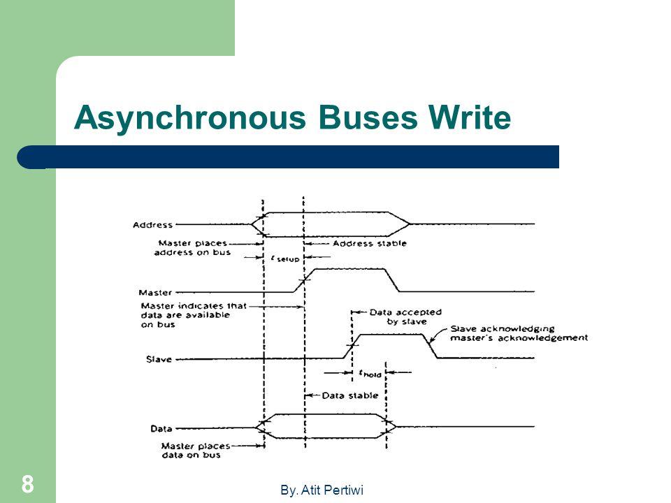 Asynchronous Buses Write