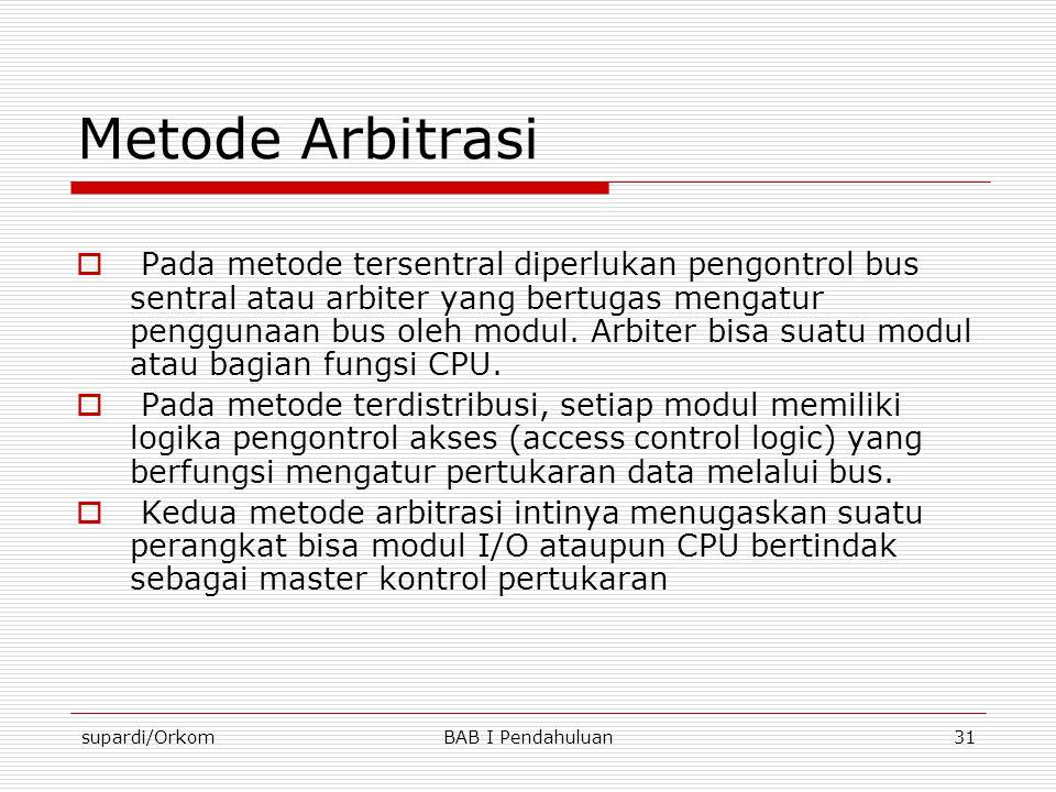 Metode Arbitrasi