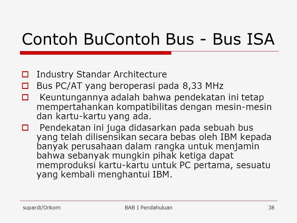 Contoh BuContoh Bus - Bus ISA