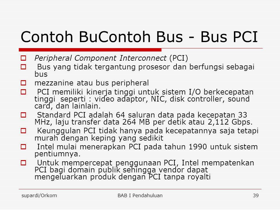 Contoh BuContoh Bus - Bus PCI