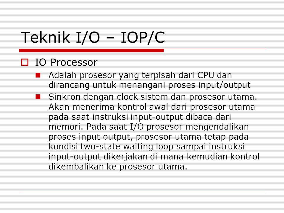 Teknik I/O – IOP/C IO Processor