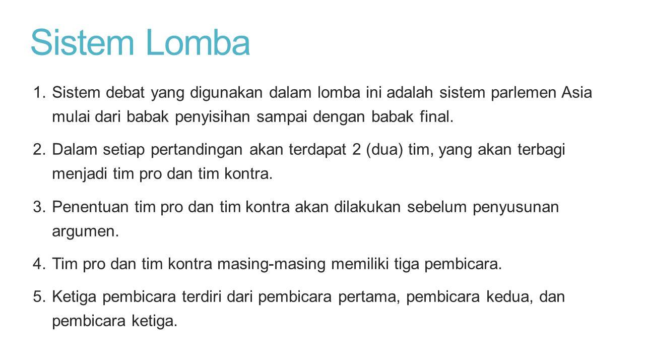 Sistem Lomba