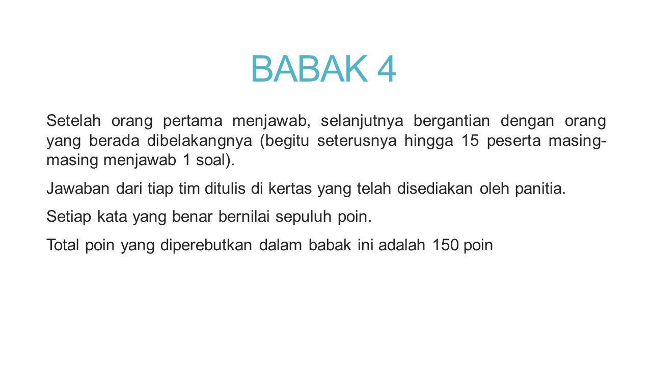 BABAK 4