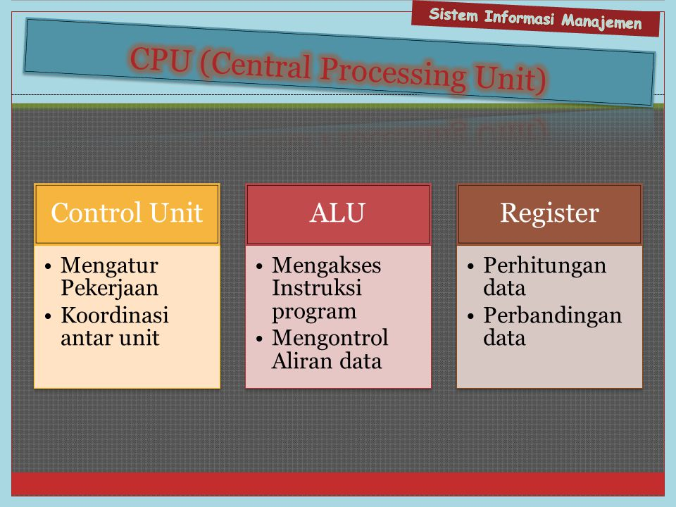 CPU (Central Processing Unit)