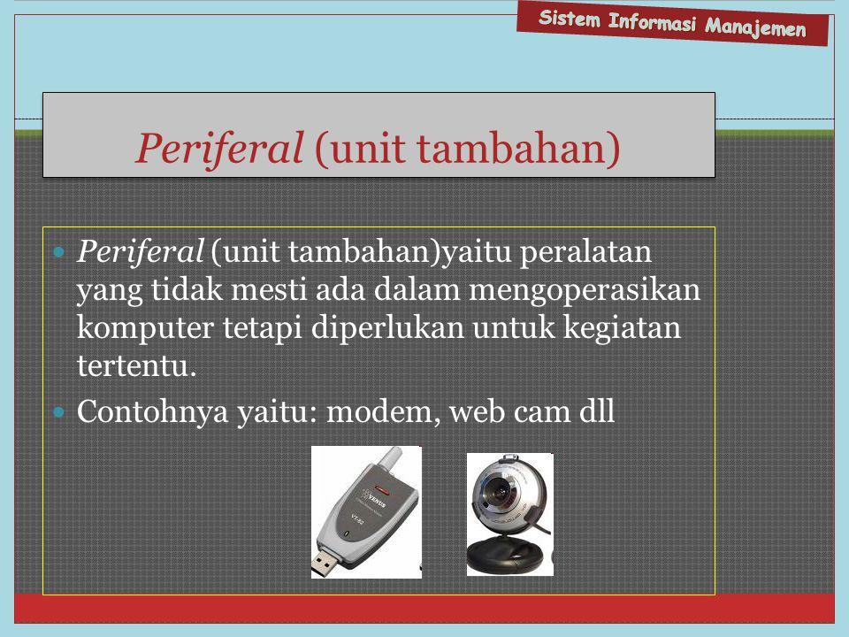 Periferal (unit tambahan)