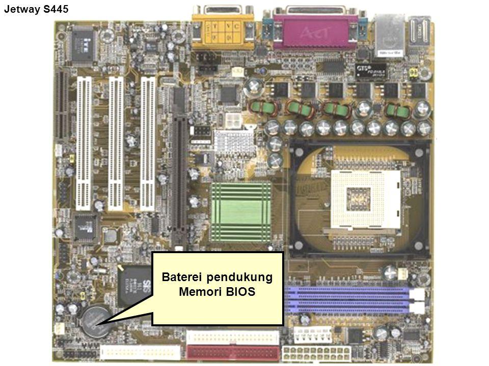 Baterei pendukung Memori BIOS
