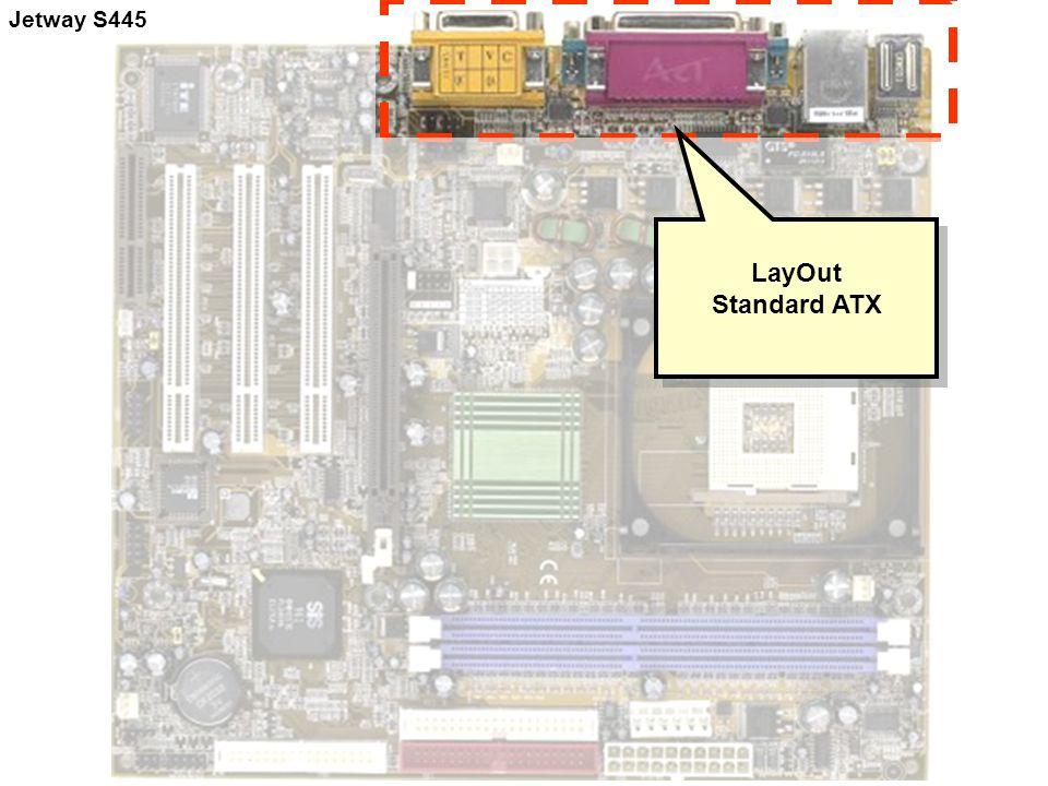 Jetway S445 LayOut Standard ATX