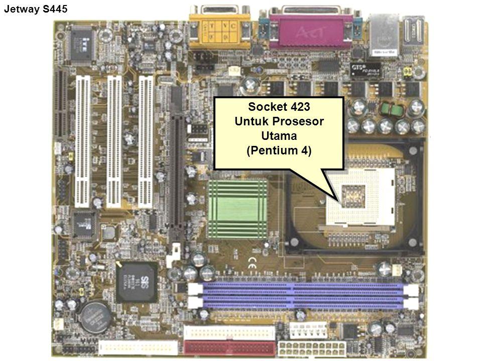 Socket 423 Untuk Prosesor Utama (Pentium 4)
