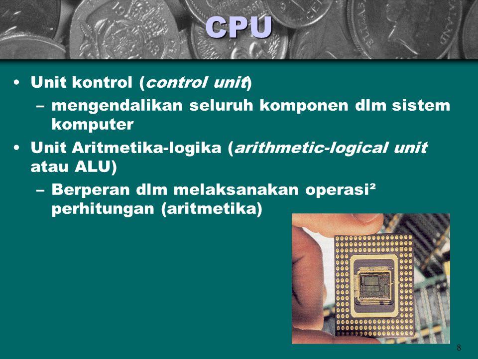 CPU Unit kontrol (control unit)