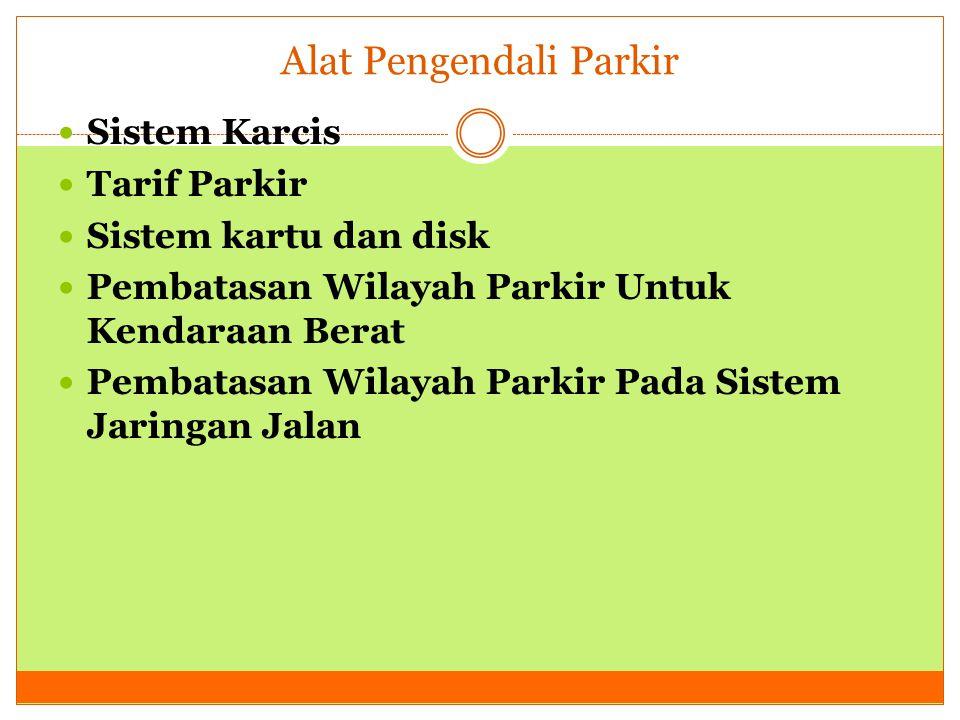 Alat Pengendali Parkir