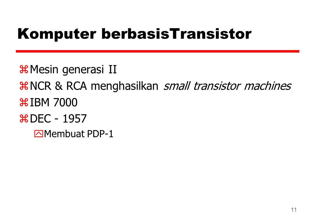 Komputer berbasisTransistor