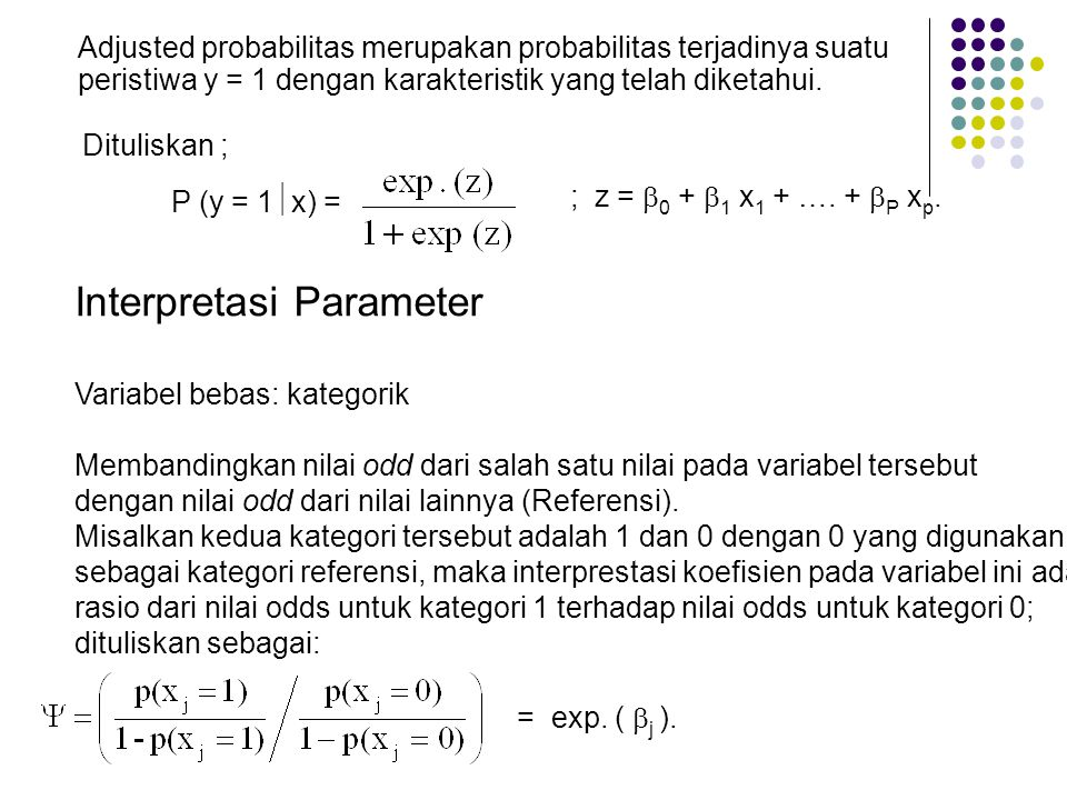 Interpretasi Parameter