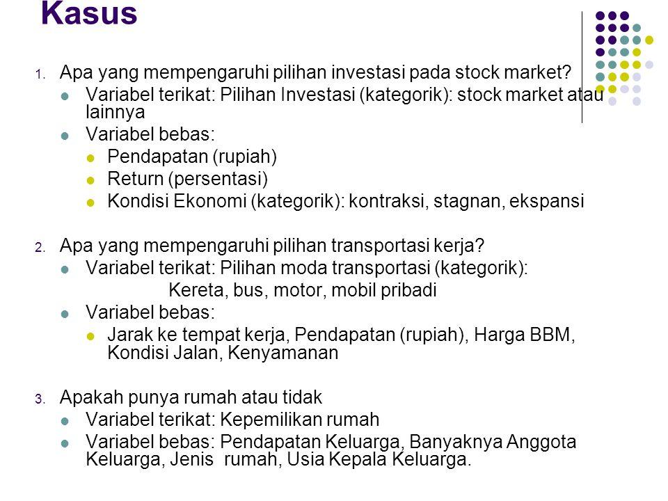 Kasus Apa yang mempengaruhi pilihan investasi pada stock market