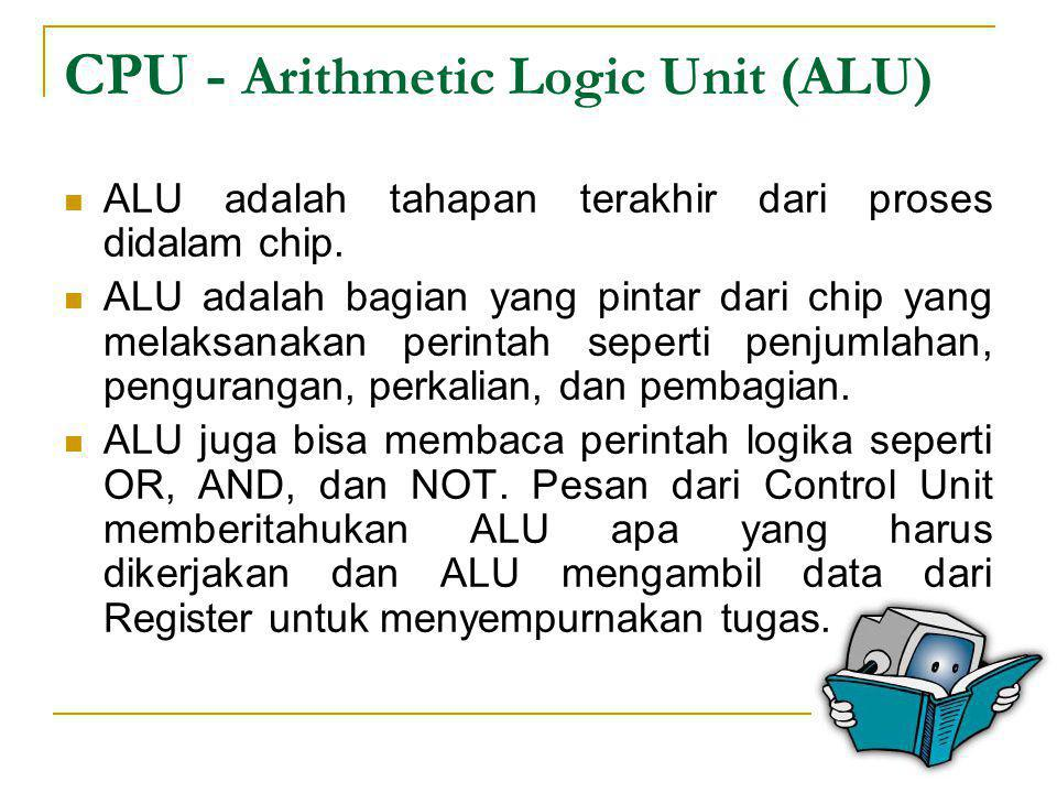 CPU - Arithmetic Logic Unit (ALU)