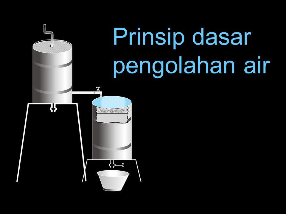 Prinsip dasar pengolahan air
