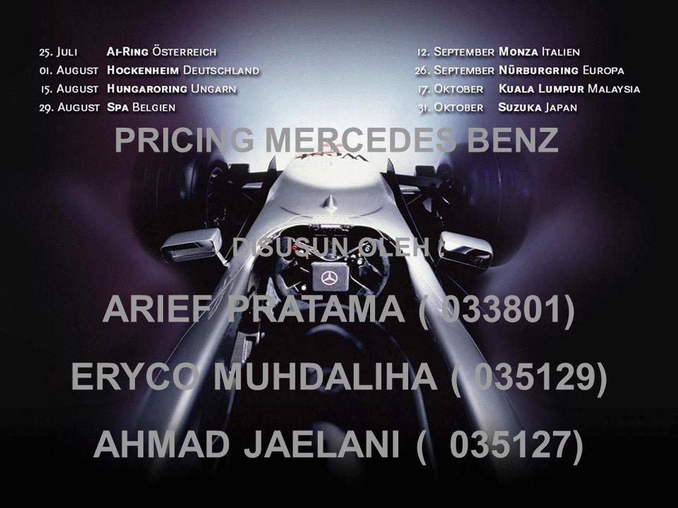 ARIEF PRATAMA ( 033801) ERYCO MUHDALIHA ( 035129)