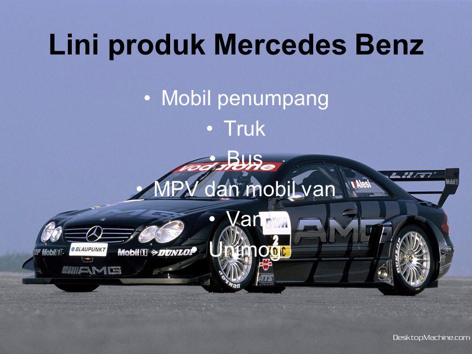 Lini produk Mercedes Benz