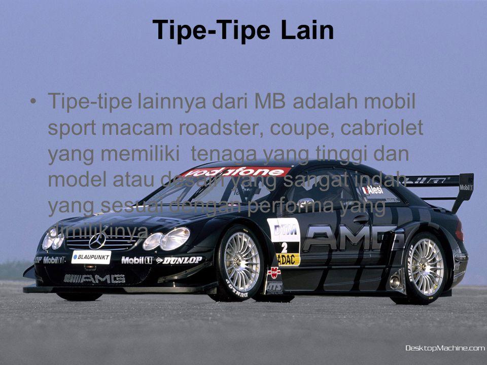 Tipe-Tipe Lain