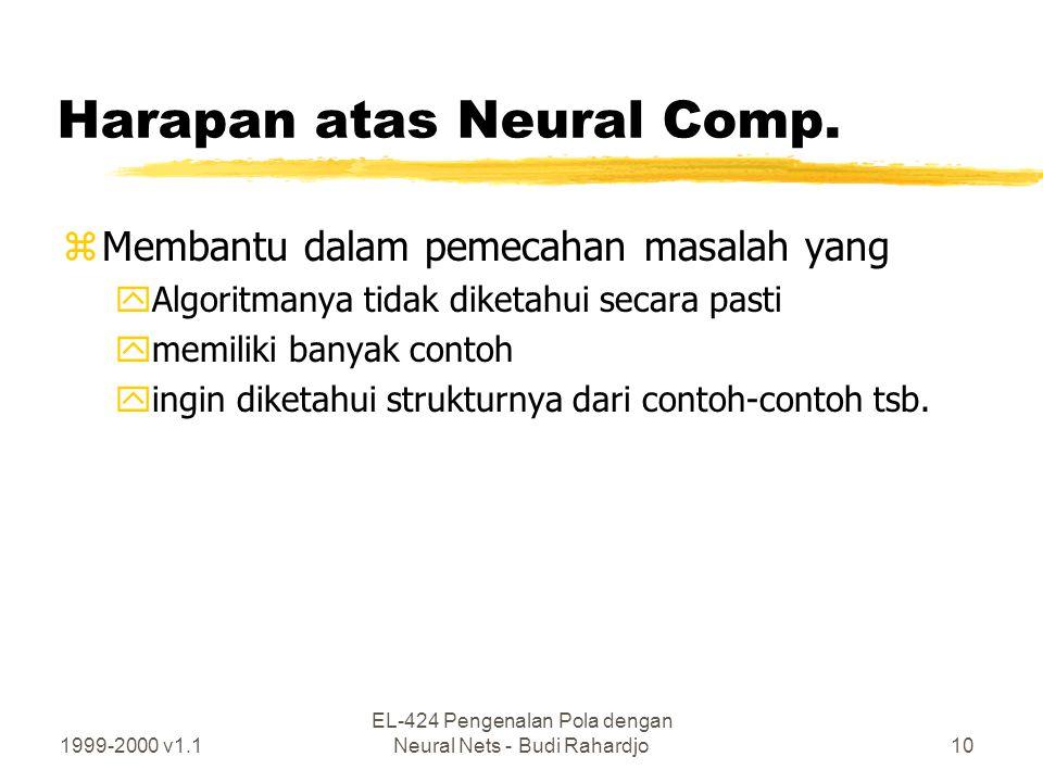 Harapan atas Neural Comp.
