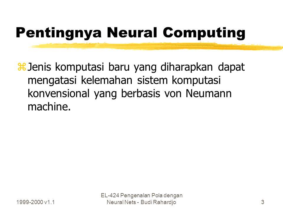 Pentingnya Neural Computing
