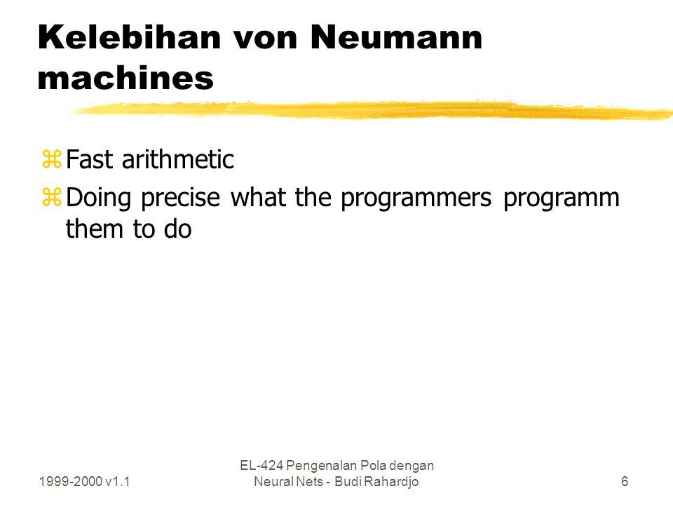 Kelebihan von Neumann machines