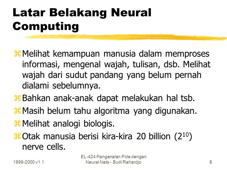 Latar Belakang Neural Computing