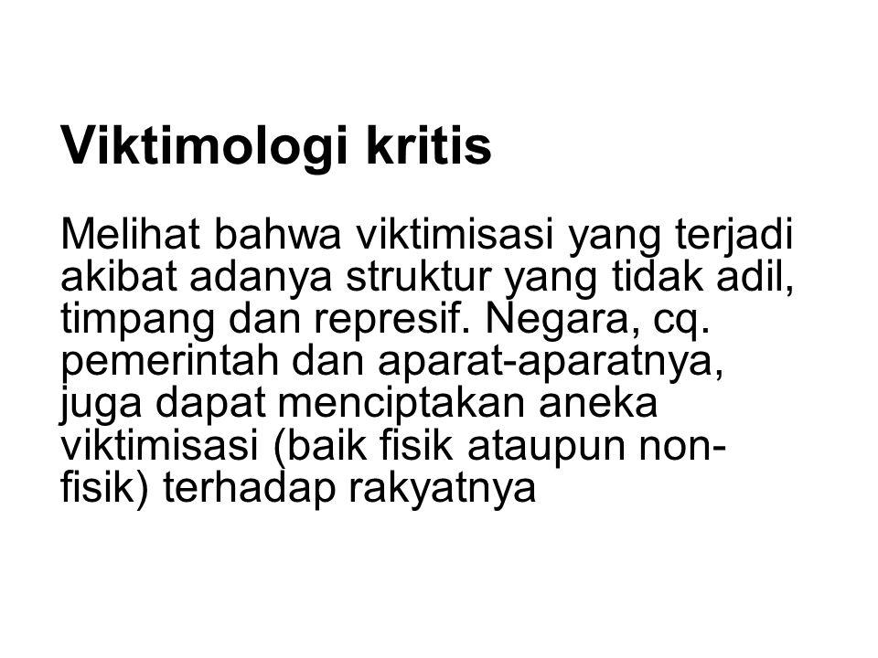 Viktimologi kritis