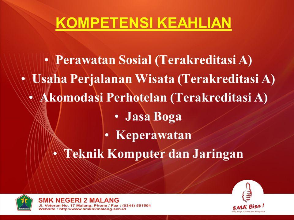 KOMPETENSI KEAHLIAN Perawatan Sosial (Terakreditasi A)