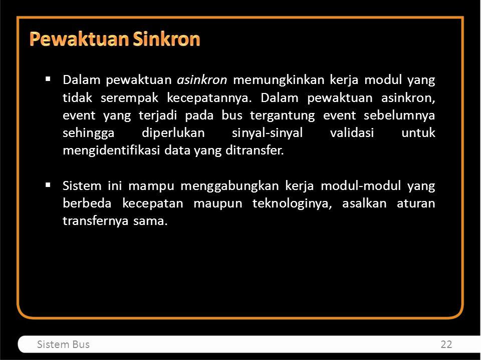 Pewaktuan Sinkron
