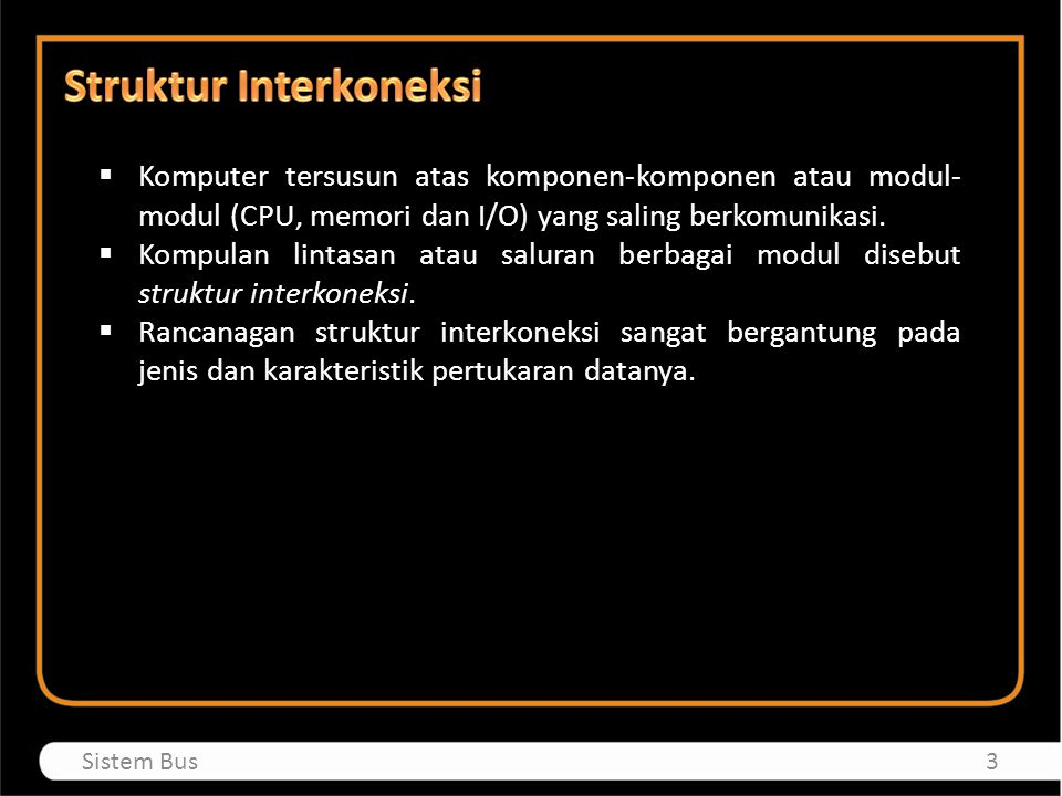 Struktur Interkoneksi