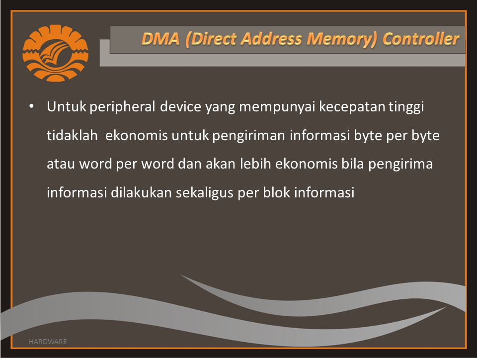DMA (Direct Address Memory) Controller