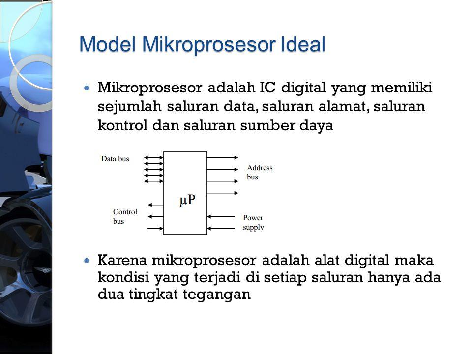 Model Mikroprosesor Ideal