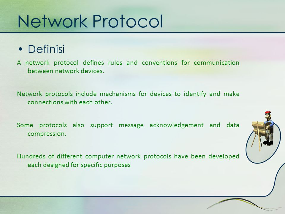 Network Protocol Definisi