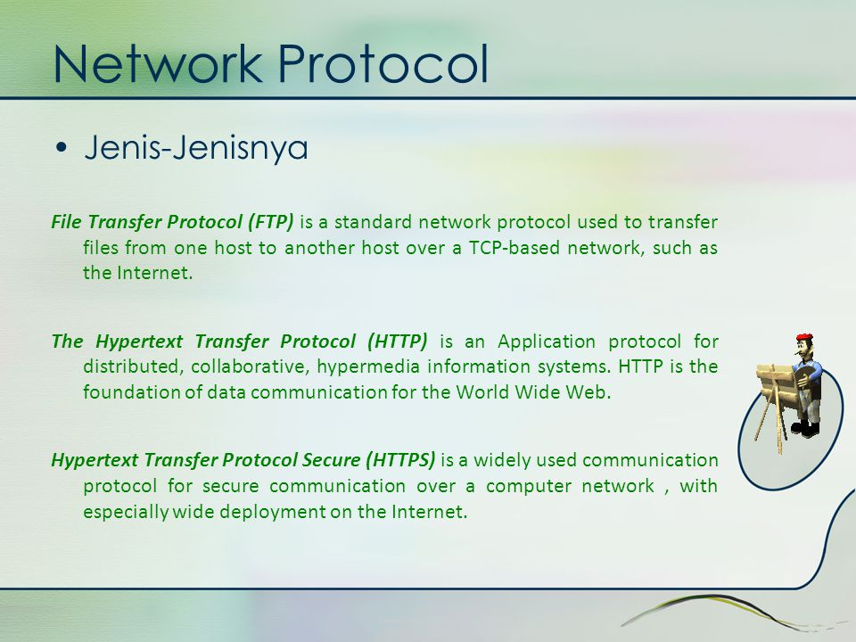 Network Protocol Jenis-Jenisnya