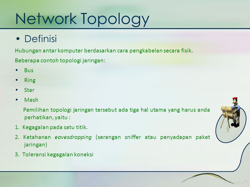Network Topology Definisi