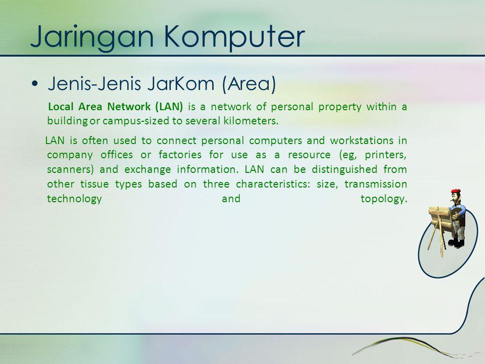 Jaringan Komputer Jenis-Jenis JarKom (Area)