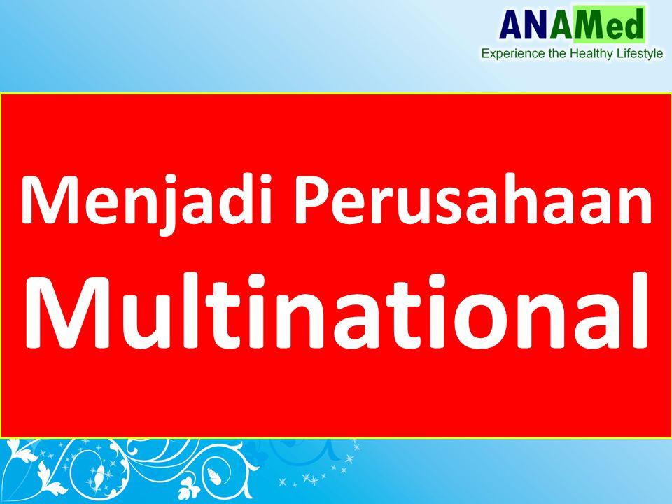 Menjadi Perusahaan Multinational