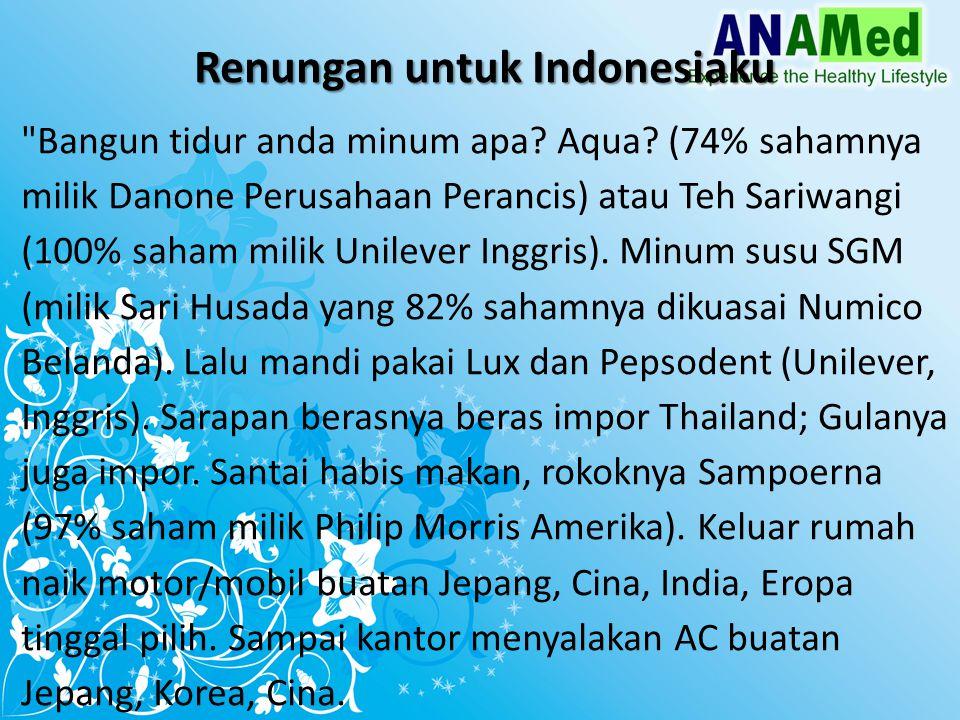Renungan untuk Indonesiaku