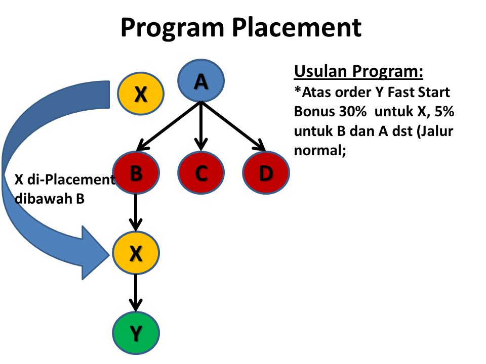 Program Placement A B C D X Y Usulan Program: