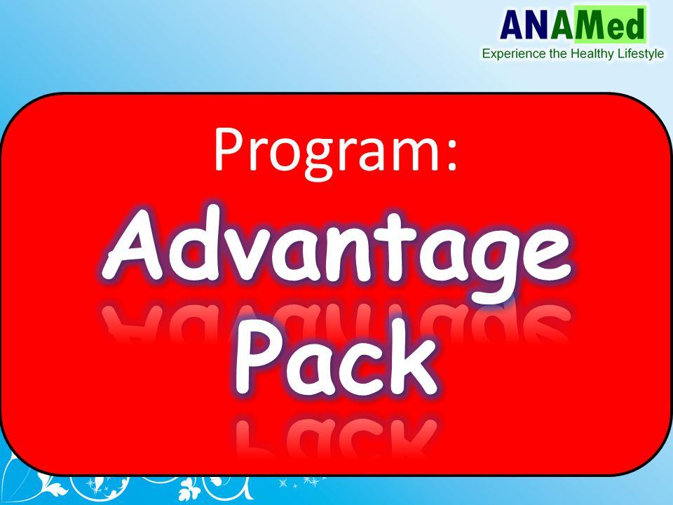 Program: Advantage Pack