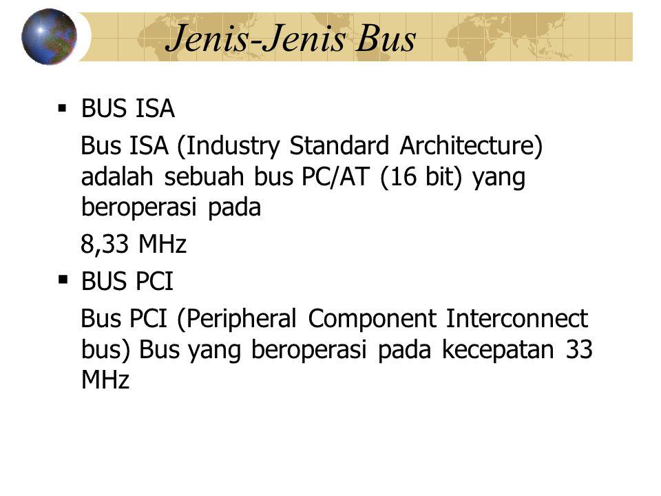 Jenis-Jenis Bus BUS ISA
