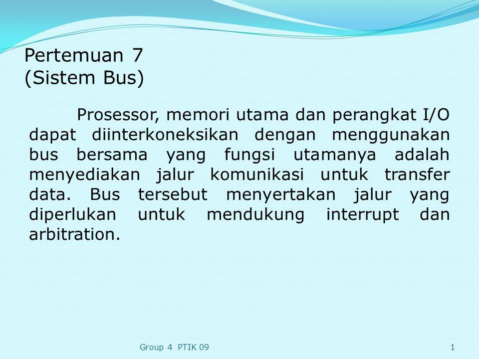 Pertemuan 7 (Sistem Bus)