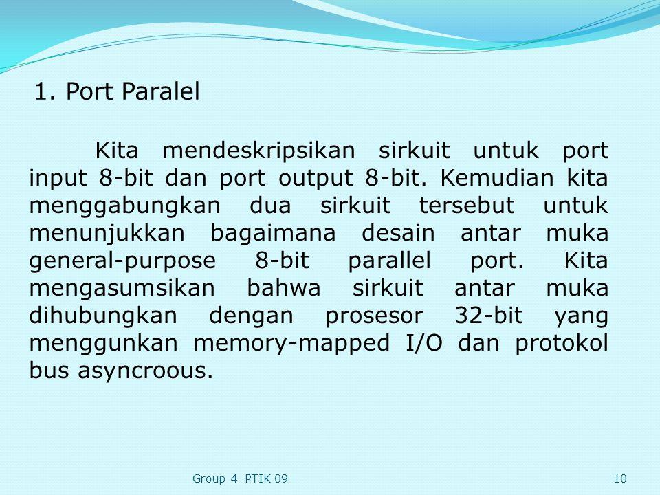 1. Port Paralel