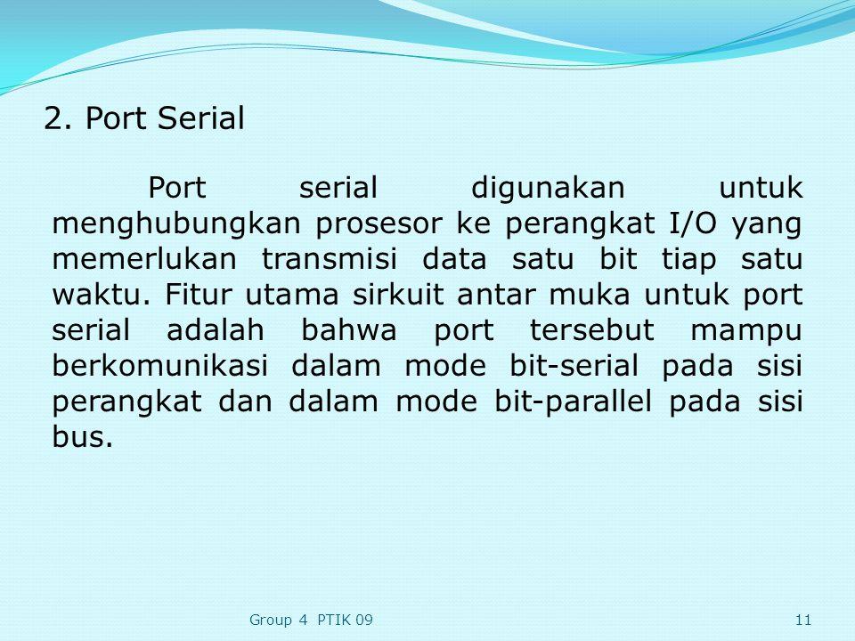 2. Port Serial