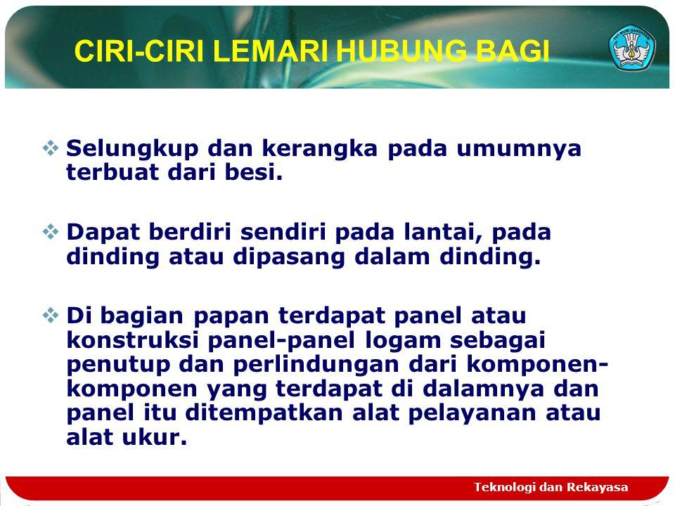 CIRI-CIRI LEMARI HUBUNG BAGI