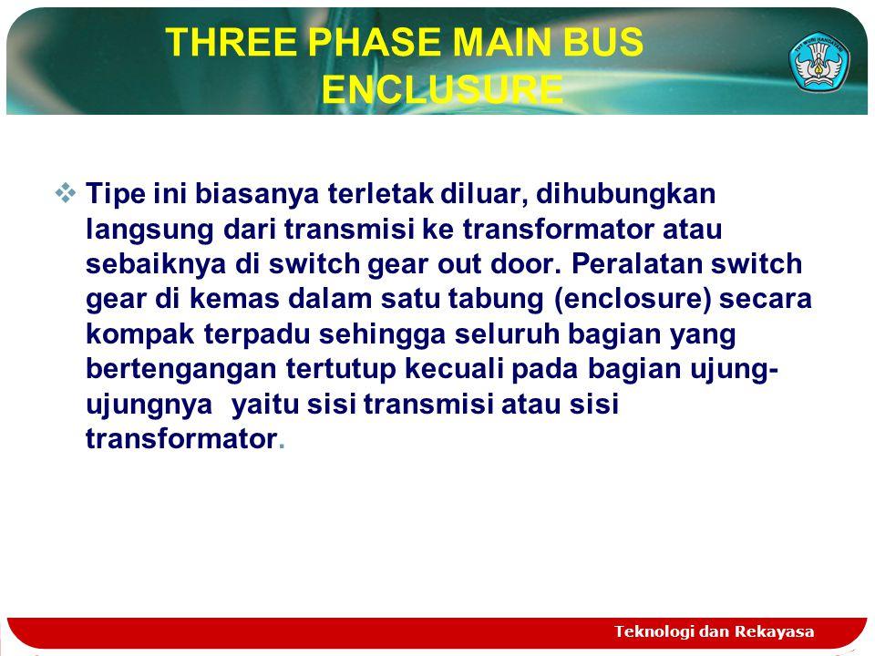 THREE PHASE MAIN BUS ENCLUSURE