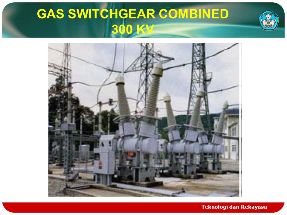 GAS SWITCHGEAR COMBINED 300 KV