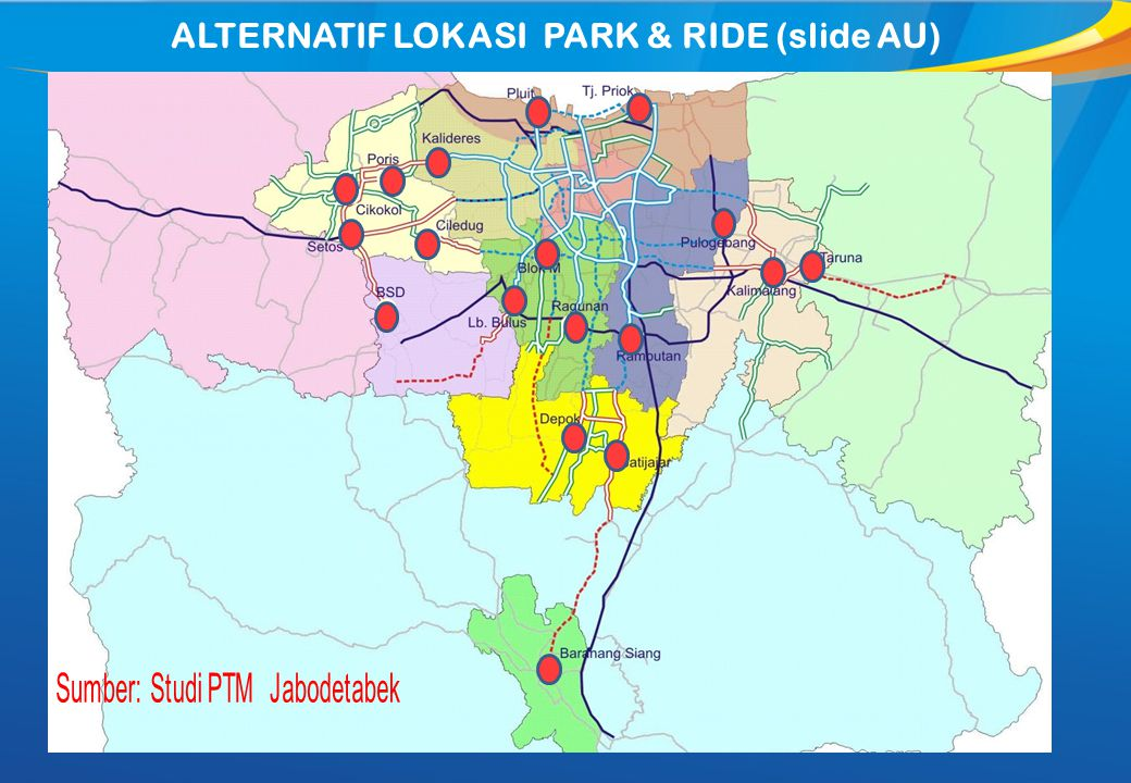 ALTERNATIF LOKASI PARK & RIDE (slide AU)