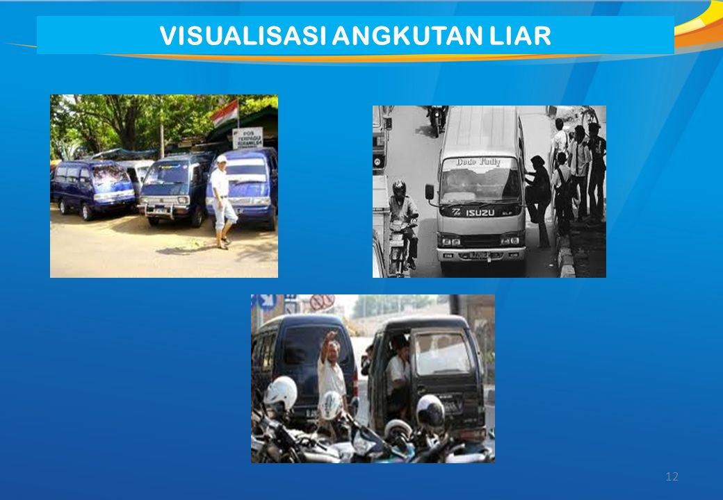 VISUALISASI ANGKUTAN LIAR