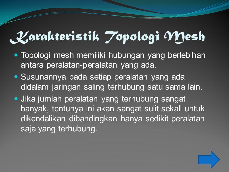 Karakteristik Topologi Mesh